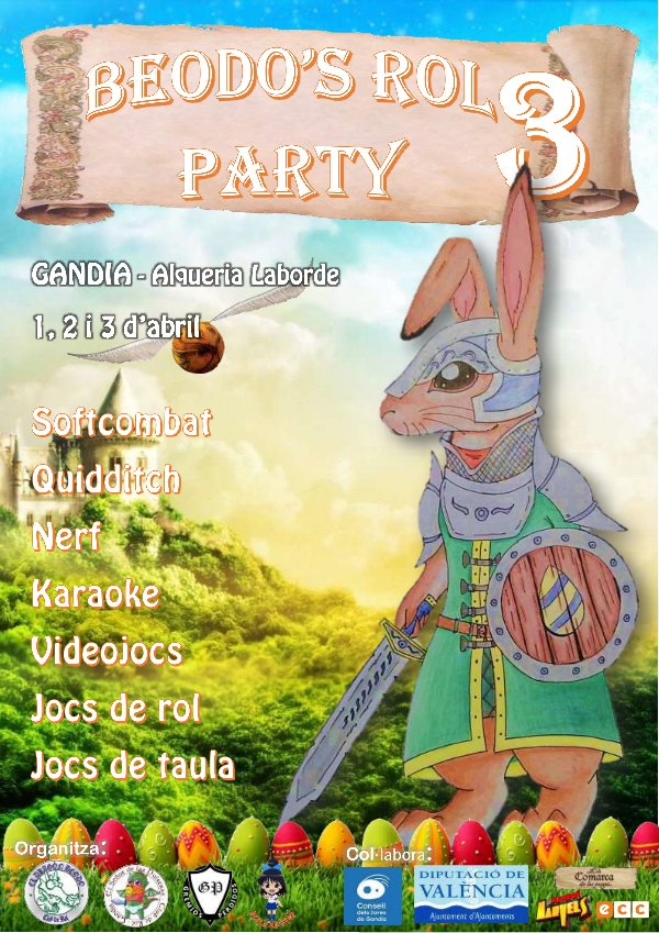 cartel beodos rol party 3